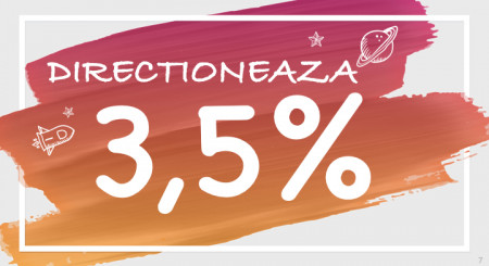 Tot ce trebuie să ştii despre direcţionarea a 3.5%% din impozitul pe venit către entităţi non-profit